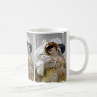 Vintage Masquerade Pierrot Coffee Mug