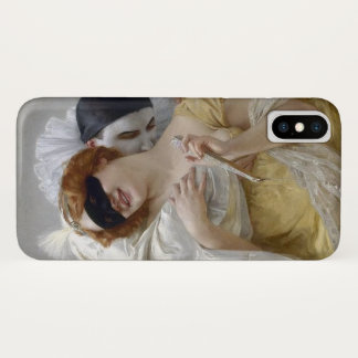 Vintage Masquerade Pierrot iPhone X Case