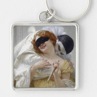 Vintage Masquerade Pierrot Key Chains