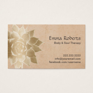 Massage Therapy Business Cards & Templates