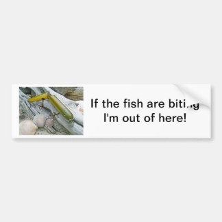 Vintage Masterlure Jointed Eel Bumper Stickers