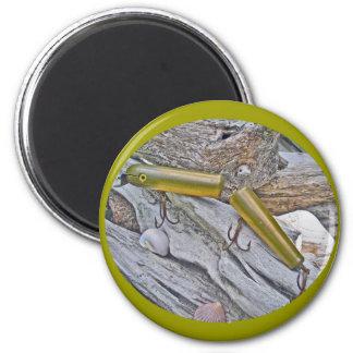 Vintage Masterlure Jointed Eel Saltwater Plug Magnets