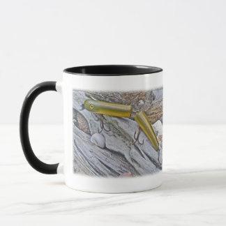 Vintage Masterlure Jointed Eel Saltwater Plug Mug