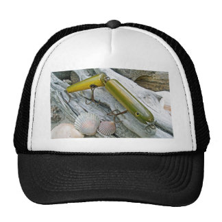 Vintage Masterlure Jointed Eel Saltwater Plug Trucker Hat