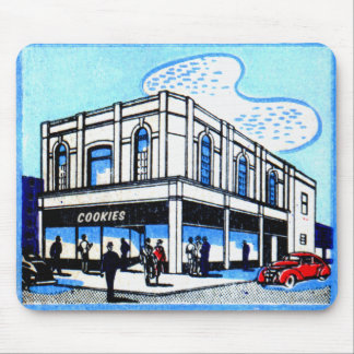 Vintage Matchbook Matches Cookies Restaurant NY Mousepad