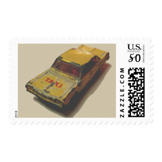 Vintage MatchBox Yellow Cab Postage