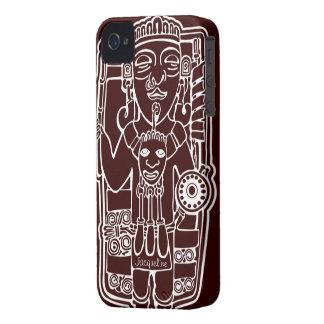 Vintage Mayan Totem iPhone 4 Case