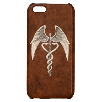 Vintage Medical Caduceus Symbol