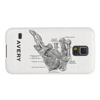 Vintage Medical Illustration Human Thumb Muscles Galaxy S5 Cover