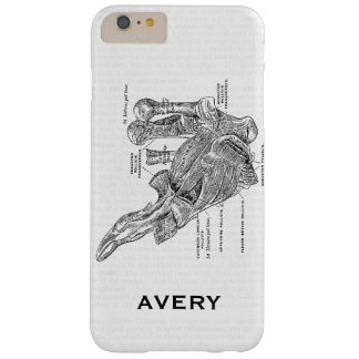 Vintage Medical Illustration Muscles of the Thumb Barely There iPhone 6 Plus Case