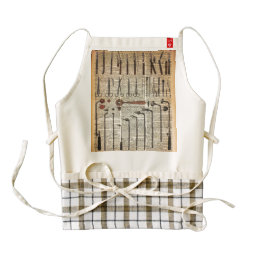 Vintage Medical Instruments Zazzle HEART Apron