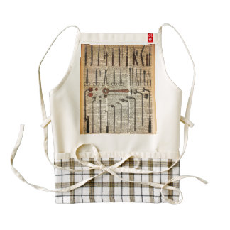 Vintage Medical Instruments Zazzle HEART Apron