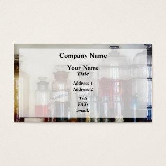 Vintage Medicine Bottles Business Card