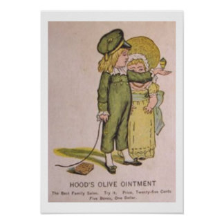 Vintage Medicine Poster