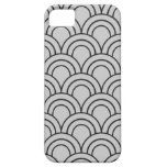 Vintage Medieval Arch Pattern - Grey iPhone 5 Covers
