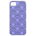 Vintage Medieval Arch Pattern - Purple Lavender iPhone 5 Case
