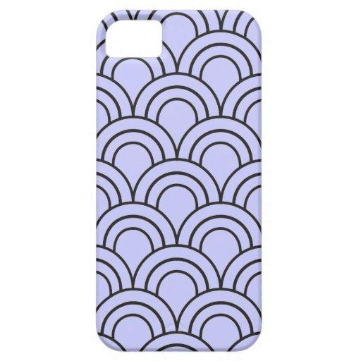 Vintage Medieval Arch Pattern - Purple Lavender iPhone 5 Cases