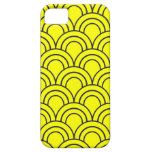 Vintage Medieval Arch Pattern - Yellow iPhone 5 Covers