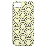 Vintage Medieval Arch Pattern - Yellow iPhone 5 Case