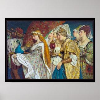 Vintage Medieval Image Poster