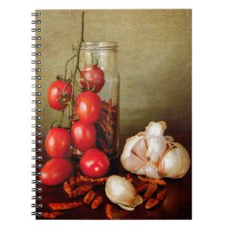 Vintage Mediterranean flavors Notebook
