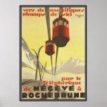 Vintage Mégève, Rhône Alpes, Francia - Impresiones