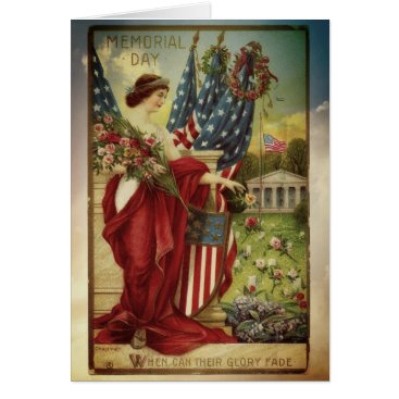 Vintage Memorial Day Greeting Card