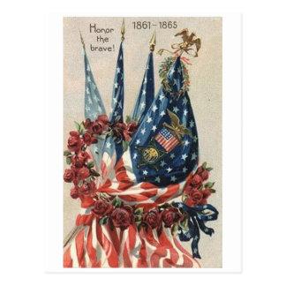 Vintage Memorial Day Postcard