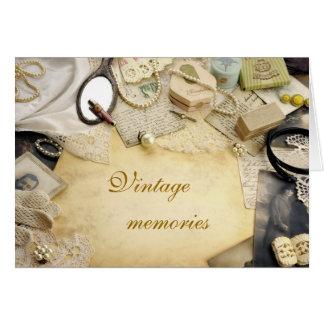 Vintage  memories greeting cards