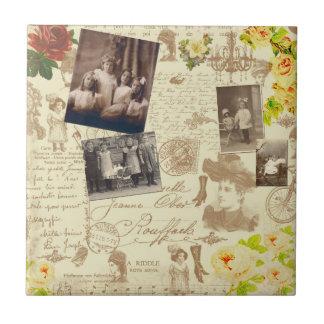 Vintage Memories of Old Ceramic Tiles