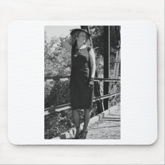 Vintage Memory of You and Me Mouse Pad