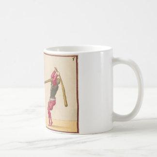 Vintage Men Fighting Coffee Mug