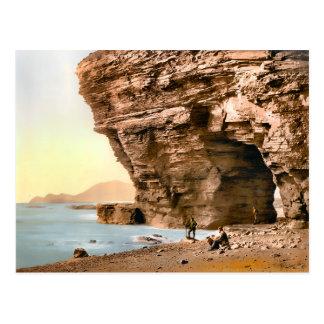 Vintage Menawn Cliffs County Mayo Ireland Postcard