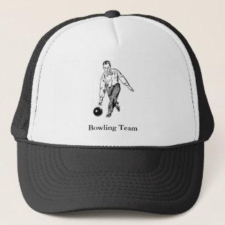 Vintage Men's Bowling Trucker Hat