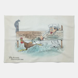 Vintage Menu Kitchen Towel