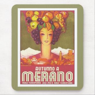 Vintage Merano Autunno Mouse Pad