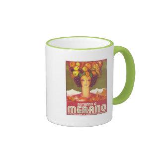 Vintage Merano Autunno Tazas De Café