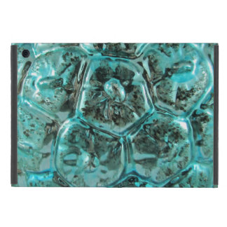 Vintage Mercury Art Glass Tiffany Turtle Shell Case For iPad Mini