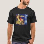 Vintage Mercury God Travel Luck Fruit Crate Label T-Shirt