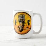 Vintage Mercury Outboard motors sign Classic White Coffee Mug