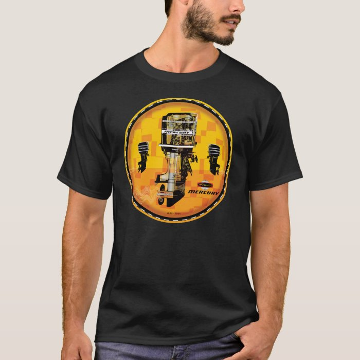 Vintage Mercury outboard motors sign T-Shirt