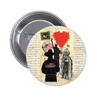 Vintage Merica Button