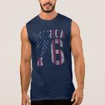 Vintage 'Merica Flag Est. 1776 Sleeveless T-shirt