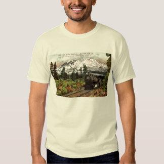 Vintage meridional 1912 del Pacífico Mt. Shasta Camisas
