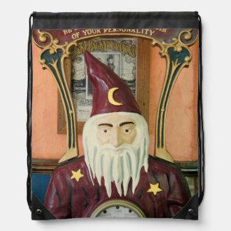 Vintage Merlin Drawstring Bag