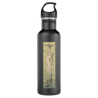 Vintage Mermaid 24oz Water Bottle