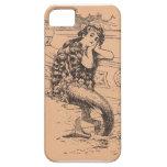 Vintage mermaid case iPhone 5 case
