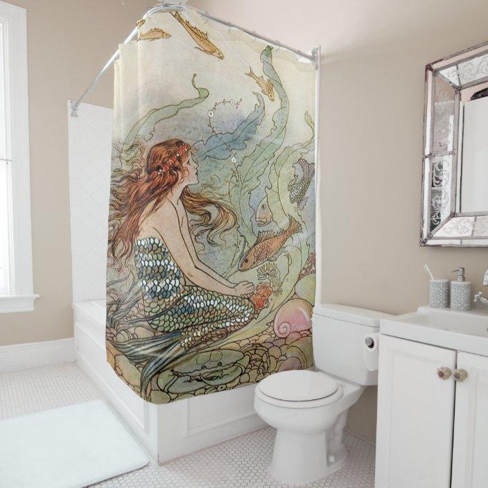 Vintage Mermaid Dover Under The Sea