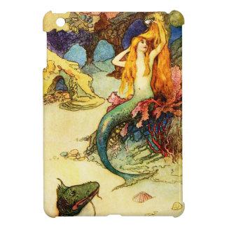 Vintage Mermaid iPad Mini Cases