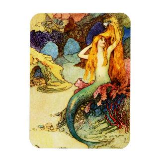 Vintage Mermaid Magnet